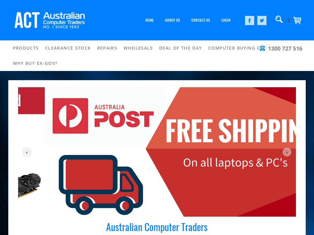 Australian Computer Traders Coupons & Promo Codes 2018